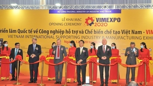 International expo on support industries, processing-manufacturing opens