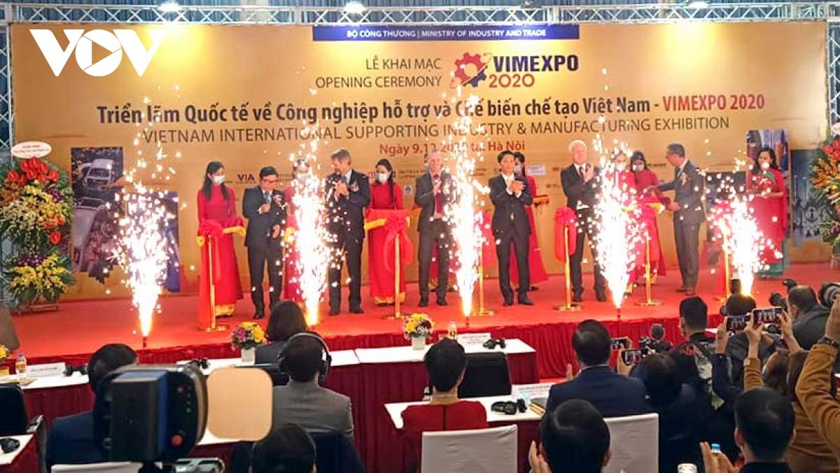 VIMEXPO 2020 – Triển lãm công nghiệp hỗ trợ đầu tiên tại Việt Nam